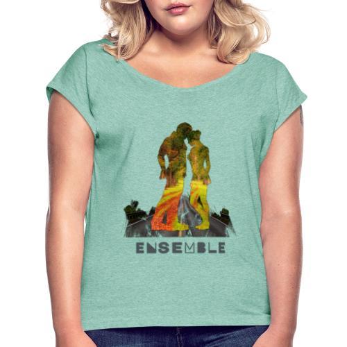 Ensemble - T-shirt à manches retroussées Femme