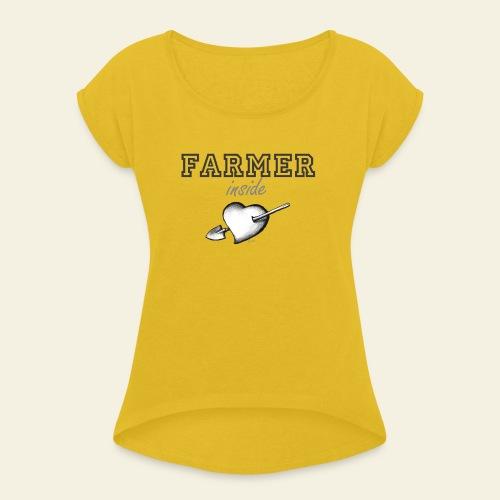 Hearth farmer - Maglietta da donna con risvolti