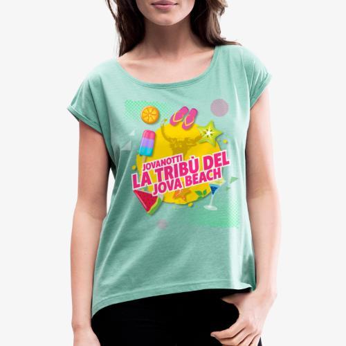 Tribù Beach 2019 - Maglietta da donna con risvolti