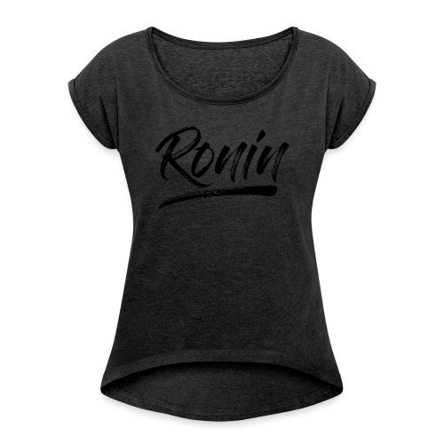 RONIN N - T-shirt à manches retroussées Femme