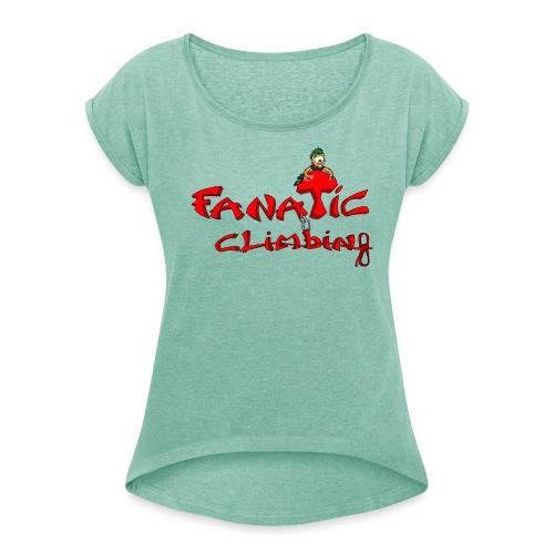 Fanatic Climbing - T-shirt à manches retroussées Femme