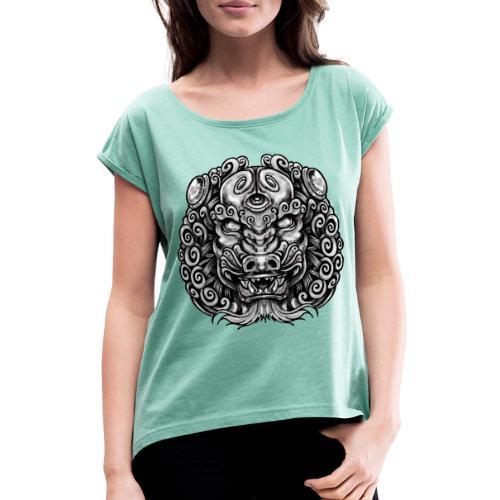 The King Chian - La fuerza que hay dentro de ti ! - Camiseta con manga enrollada mujer
