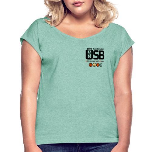 Sportsklubben USB - Dame T-shirt med rulleærmer