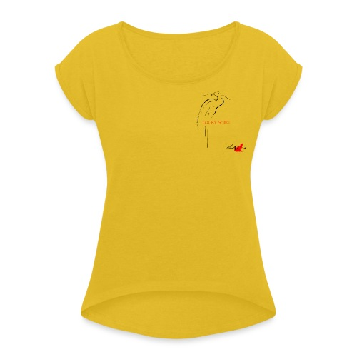 LUCKY SHIRT - Maglietta da donna con risvolti