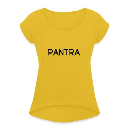 Pantra - Vrouwen T-shirt met opgerolde mouwen