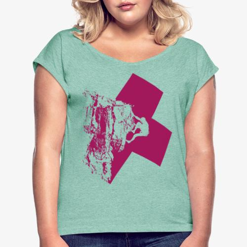 Climbing away - Women's T-Shirt with rolled up sleeves