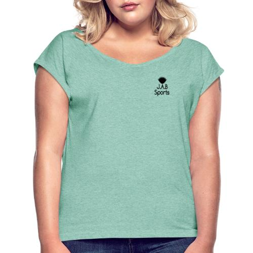 JAB Sports - Women's T-Shirt with rolled up sleeves