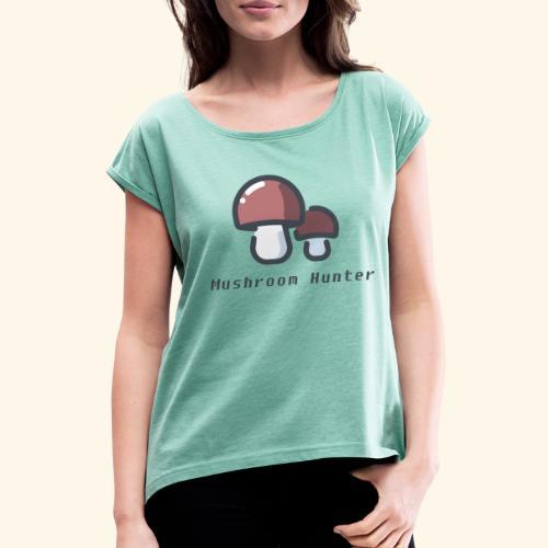 Mushroom Lovers - T-shirt à manches retroussées Femme