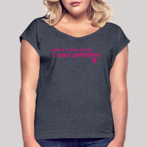 GaynorPower - Maglietta da donna con risvolti