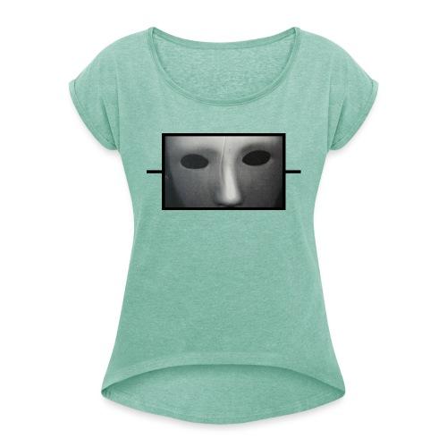 Eine Art von Widerstand 20.1 - Frauen T-Shirt mit gerollten Ärmeln