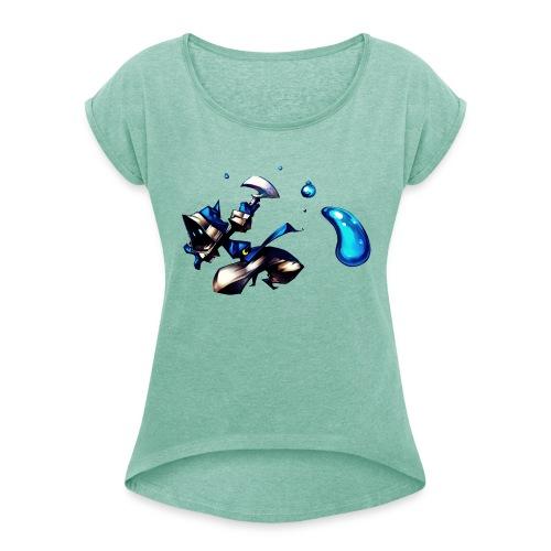 Faith HD2 - T-shirt à manches retroussées Femme