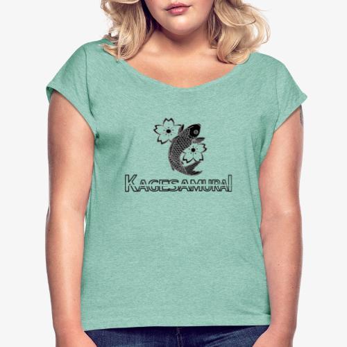 kagesamurai - T-shirt à manches retroussées Femme