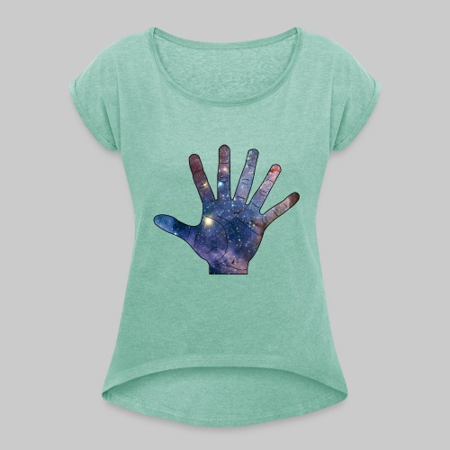 CONFIRMED! - SIX FINGER BASEBALLCAP - Vrouwen T-shirt met opgerolde mouwen