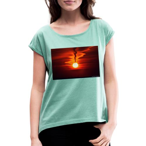Paul Dillon Photography - Women's T-Shirt with rolled up sleeves