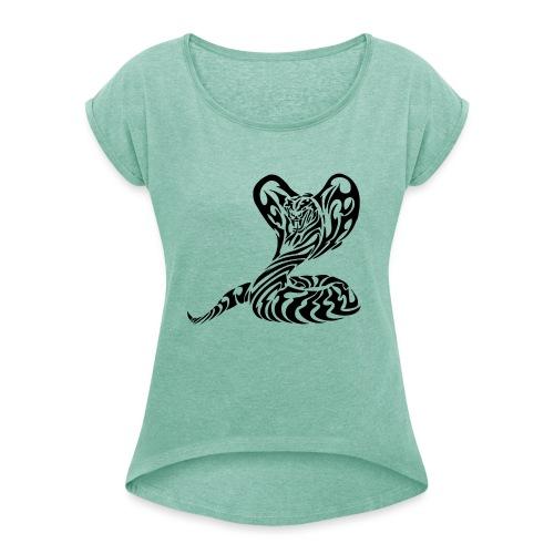 Best-Sellers - Logo Raycrag - - T-shirt à manches retroussées Femme