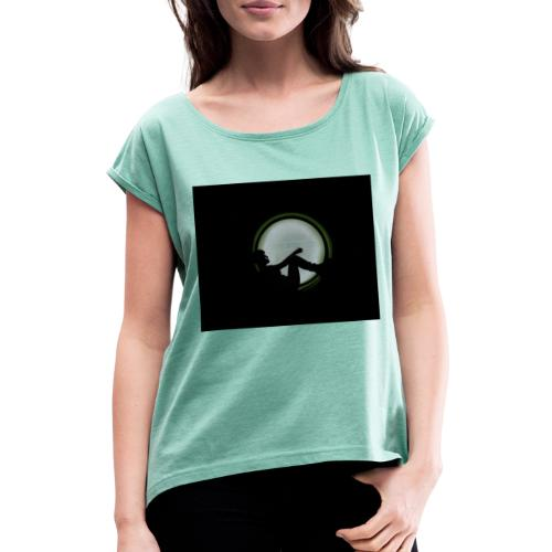 Porthole into your mind - Women's T-Shirt with rolled up sleeves