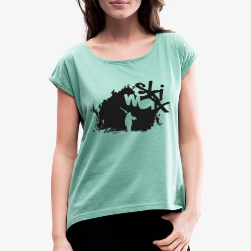 Ski Max - Women's T-Shirt with rolled up sleeves