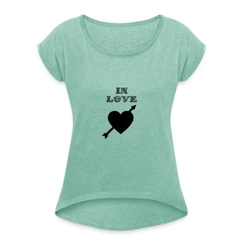 I'm In Love - Maglietta da donna con risvolti