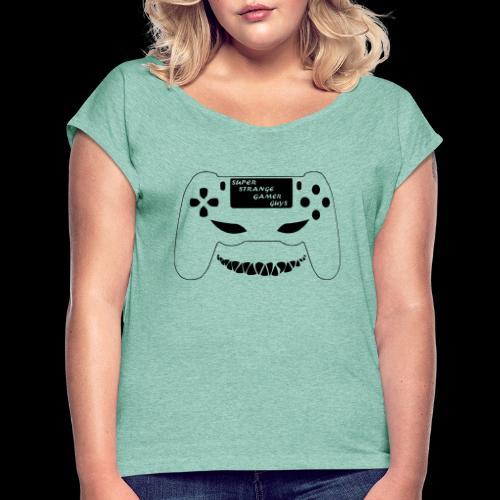 SSGG Essentials - Frauen T-Shirt mit gerollten Ärmeln