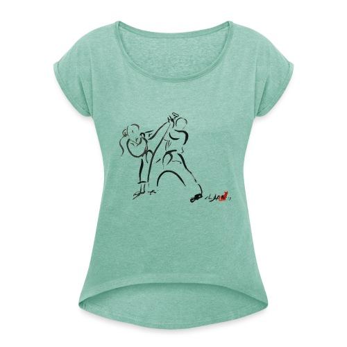 KARATE 1 - Maglietta da donna con risvolti