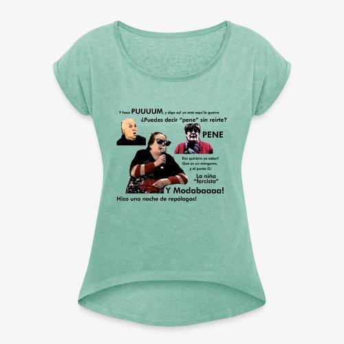 APM compilation - Camiseta con manga enrollada mujer