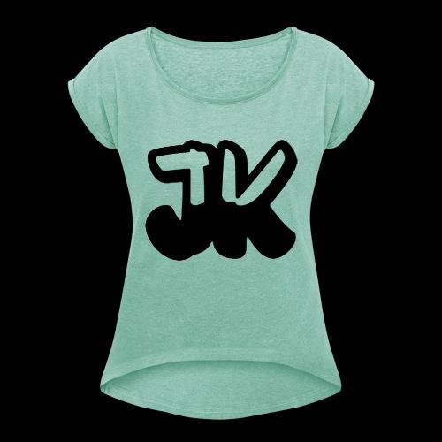 ZeddJK logo - Maglietta da donna con risvolti
