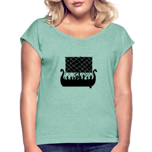 LongShip - Vikings - T-shirt à manches retroussées Femme