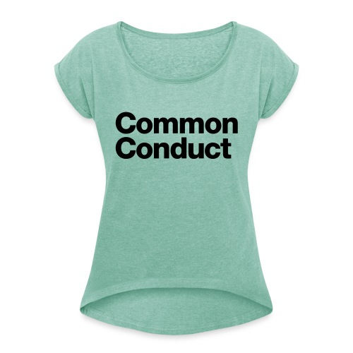 Common Sports - Women's T-Shirt with rolled up sleeves