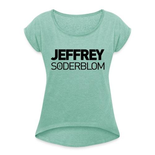 JEFFREY SÖDERBLOM - Frauen T-Shirt mit gerollten Ärmeln