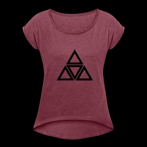 triangle - Maglietta da donna con risvolti