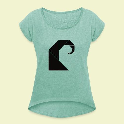 Swell - Vrouwen T-shirt met opgerolde mouwen