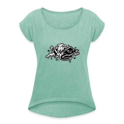 APPSONEEA - Maglietta da donna con risvolti