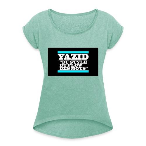 jdfcrea serie 1 - T-shirt à manches retroussées Femme