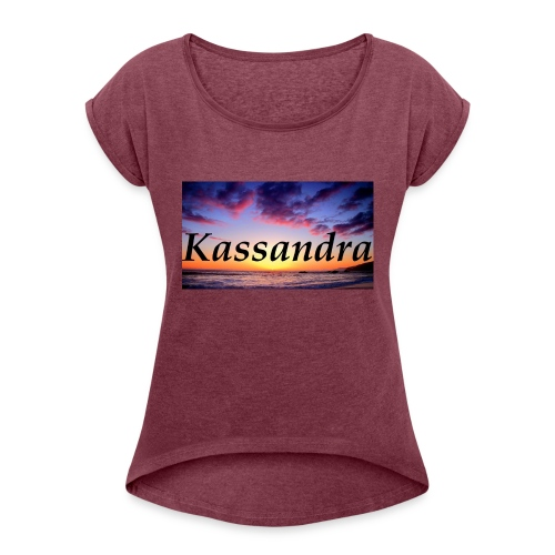 kassandra - Women's T-Shirt with rolled up sleeves