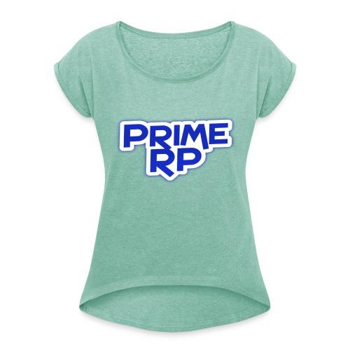 PrimeRP - Dame T-shirt med rulleærmer