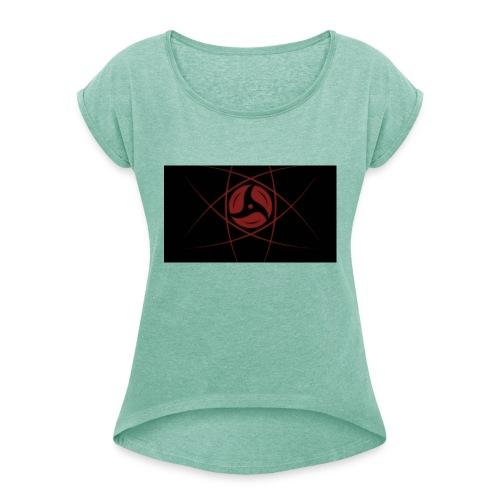 Konoha Kingz Merch - Frauen T-Shirt mit gerollten Ärmeln