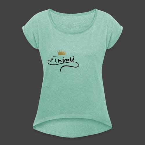 gdh - Frauen T-Shirt mit gerollten Ärmeln