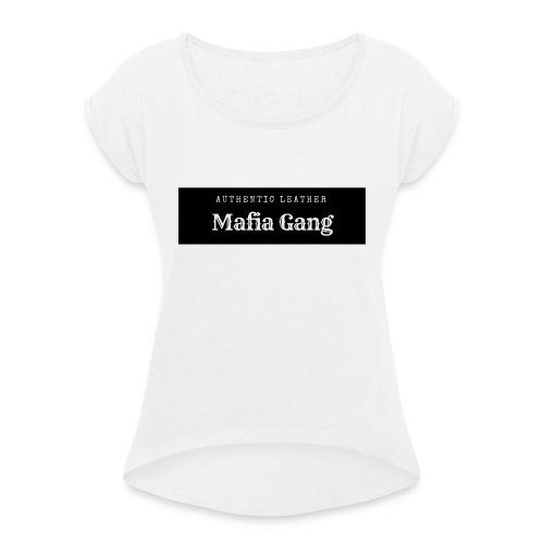 Mafia Gang - Nouvelle marque de vêtements - T-shirt à manches retroussées Femme