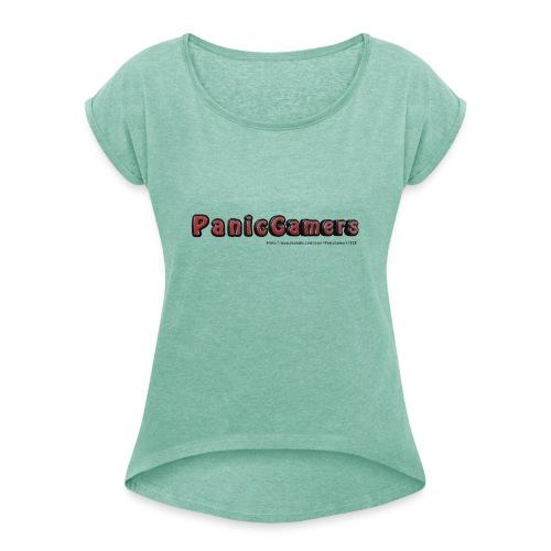 Tazza PanicGamers - Maglietta da donna con risvolti