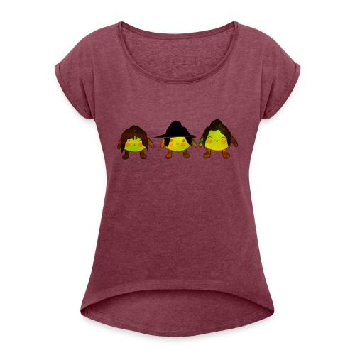 Le Suore Limone - Maglietta da donna con risvolti