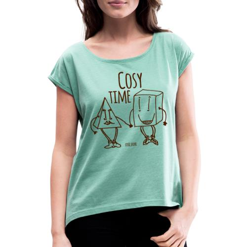 couple like that - Women's T-Shirt with rolled up sleeves