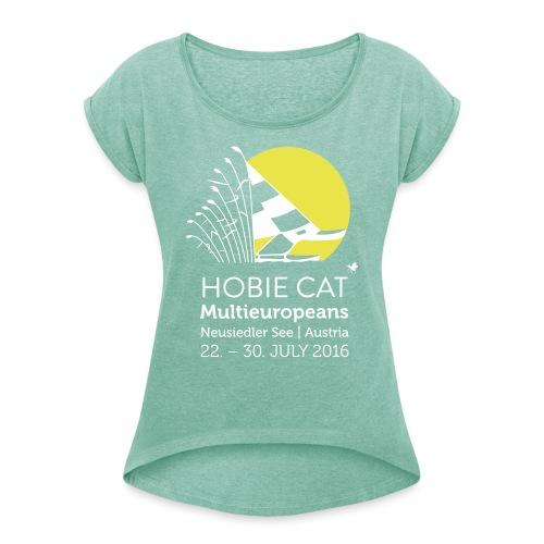 Hobie Tanktop - Frauen T-Shirt mit gerollten Ärmeln