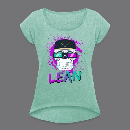 LEAN t-shirts - Women's T-Shirt with rolled up sleeves
