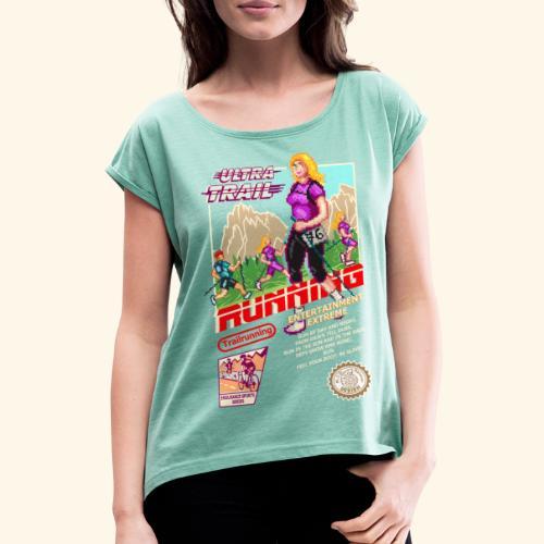 ULTRA TRAIL RUNNING (FAST GIRL) - Maglietta da donna con risvolti