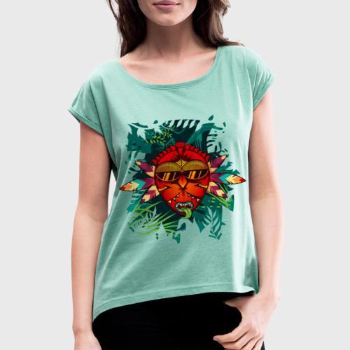Back to the Roots - T-shirt à manches retroussées Femme