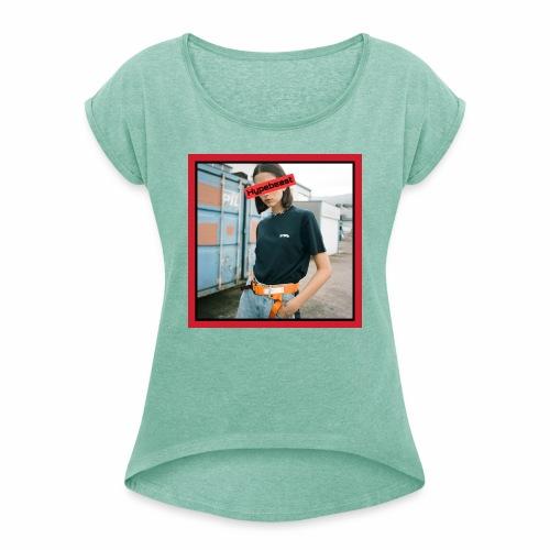 HB #2 reb&black box - Maglietta da donna con risvolti