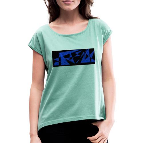 street - T-shirt à manches retroussées Femme