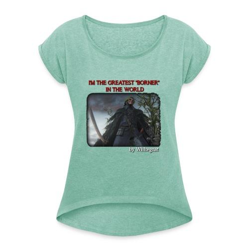 BERTOLDO SHIRT CROP png - Maglietta da donna con risvolti
