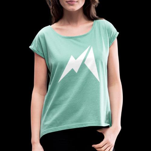 Matinsane - T-shirt à manches retroussées Femme