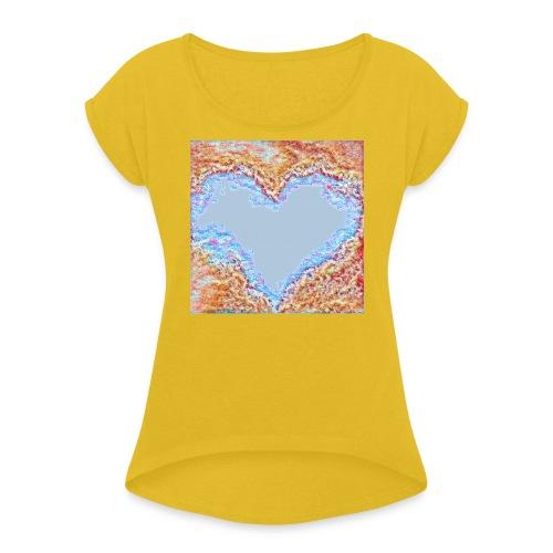 Hart - Maglietta da donna con risvolti